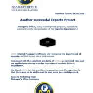 593 export project