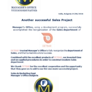 610 sales project
