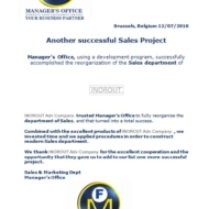 611 sales project