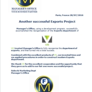 614 export project