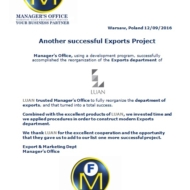 615 export project