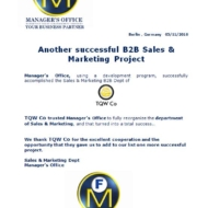623 b2b sales and marketing project