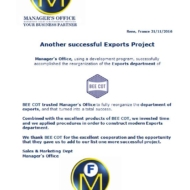 625 exports project