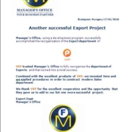 mo export project 582