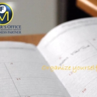 organize yourself first