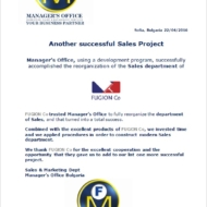 sales project - fugion