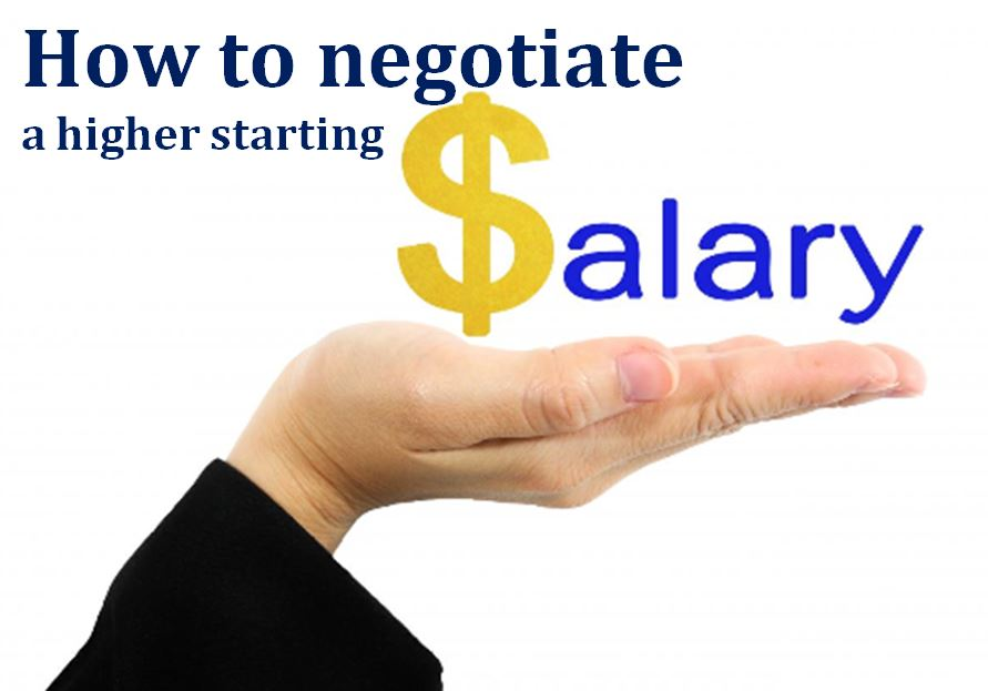 How to negotiate a higher starting salary | Manager's Office