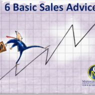 6 basic sales advices