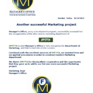 621 marketing project