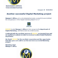 622 digital marketing project