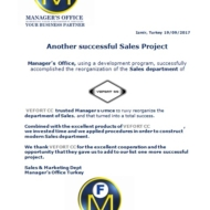 651 mo sales projects