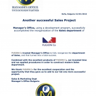 597 SALES PROJECT