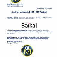 685 CRM-CRS Project-1