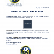 709 CRM-CRS Project-1